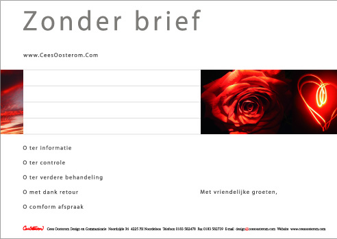 zonder brief cees oosterom design en communicatie